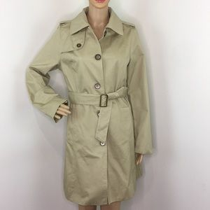 Merona Taupe Trench coat